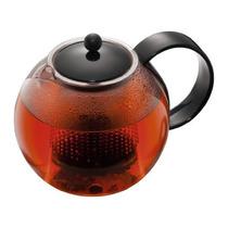 Bodum Medio Assam Tea Prensa Con Filtro De Plástico, Negro,