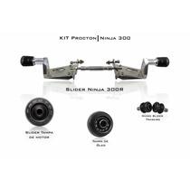 Kit Slider Procton Racing Kawasaki Ninja 300r Completo