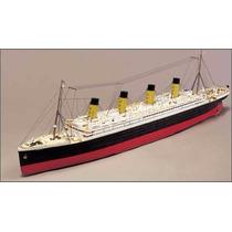 Miniatura Em Papel Titanic Royal Mail Steamer + Brinde