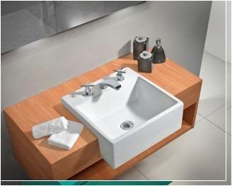 Bachas de ba o lavatorio piletas muebles a media todoo u for Piletas para bano
