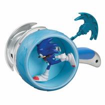 Sonic - Figura Articulada Com Lançador Tomy To-22503a1-a