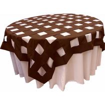 Cubremantel Domino Tafetan Manteleria Fina