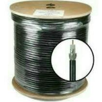 Cable Coaxial Rg59 Bobina Negro