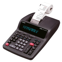 Calculadora De Mesa Grande Com Bobina Casio Dr-120tm 110v