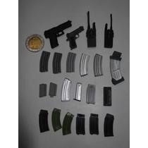 Armas Lote Escala 1/6 Hot+toys Sideshow Pistola Accesorios