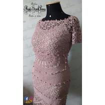 Crochê Vestido De Feito A Mão - Atelier Thaís Sant