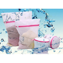 Kit 2 Saco + 1 Cesto Sutiã Protetores Maquina Lavar Roupa