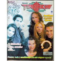 Timbiriche.revista El Reencuentro Paulina R.sasha,erick,benn