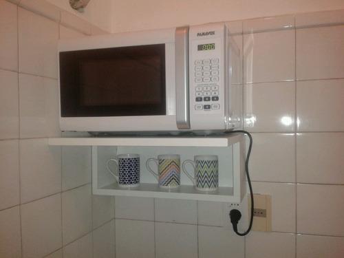 Mueble a reo para microondas en mdf18mm medidas46x36x20 - Muebles para microondas ...