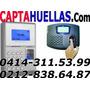 Control De Asistencias De Personal Capta Huellas