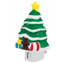 Luz Noche Forma Figura Arbol Navidad Foco E12 Voltech 46137