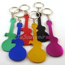 Llavero Guitarra Destapador Para Nenas Nenes Mujeres Varones
