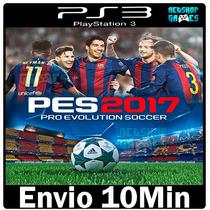Pes 2017 - Pro Evolution Soccer 17 - Psn Ps3 - Envio Já