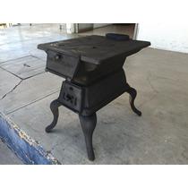 Estufa / Calentador De Leña La Menona 100% Fierro Vaciado