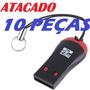 Adaptador Leitor Cartão Micro Sd Atacado (kit 10 Peças)