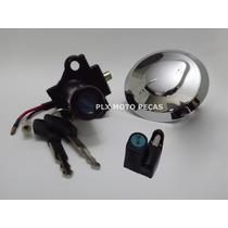 Kit Chave Ignição Cbx 250 Twister 2001 A 2005 ( 3 Peças )
