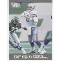 1991 Ultra Troy Aikman Dallas Cowboys