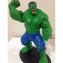 Boneco Hulk Marvel Grande Em Resina - 42cm