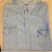 Camisa Levis Jeans Importada Talle Large