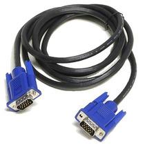 Cable De Vídeo Vga 3 Metros Computadora Laptop Proyector Pc