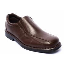 Sapato Social Masculino 100% Couro Linha Conforto Antistress