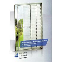 Porta Balcao De Correr Aluminio Branco 3 Folhas Veja Medidas