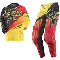 Traje Rockstar Motocross 2xl-38 Cuatrimoto Enduroatv Rzr Atv