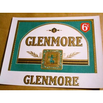Antigua Etiqueta Cigarros Habanos Glenmore Usa Imp.