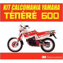 Kit Completo Calcomanias Moto Yamaha Tenere 600