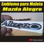 Emblema Para Maleta Mazda Allegro