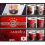 Mugs Pocillos Equipos De Futbol Millonarios Santafe Real