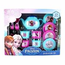 Juego De Te Princesas Frozen Disney Mayoreo Bolo O Regalo