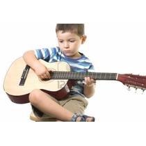 Guitarra Acústica Clásica 3/4 Para Niños Importada Zebra