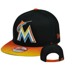 New Era Gorra 9fifty Snapback Small Medium Miami Marlyns