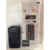 Bateria Sony Np-f970 Original + Carregador F770 F330 F 570