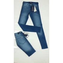 Jeans Tucci Azul Localizado, Chupin
