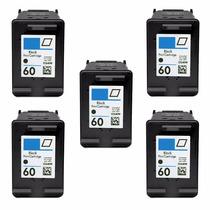5 Cartuchos Hp 60 Impressora Deskjet F4580 F4480 C4780 S