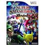 Super Smash Bros Brawl Wii Usado - Blakhelmet C