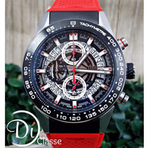 Reloj Tag Heuer Carrera Calibre Heuer 01 Rojo