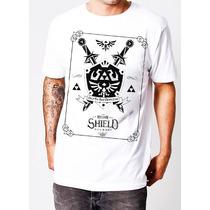 Playera O Camiseta Zelda Link Hylian Escudo Edicion Especial