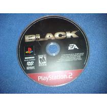 Black Juego De Play 2 Slim O Fat Solo Es El Disco