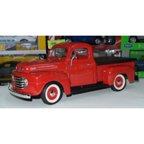 1:18 Ford F-1 Pick Up 1948 Rojo Lucky Road Legends Yat Ming