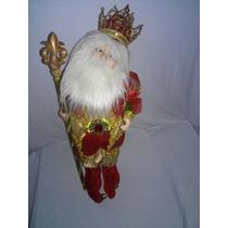 Santa Claus Navidad (cuerda ) 50 Cm Excelente Detalle