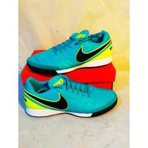 Zapatos Tenis Nike Tiempo Genio Ii Piel 819216 307 Num 27.5