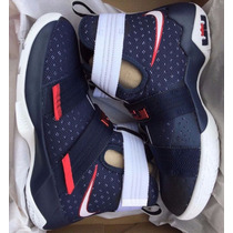 Nba Nike Tenis Lebron Soldier 10 Modelo Usa Lebron James