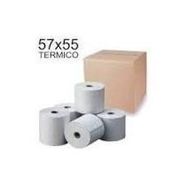 Rollos Térmico 57mm X 50mm Para Caja Registradoras