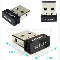 Adaptador Wireless Usb Wifi 150mbps Com 100 Metros Alcance