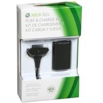 Bateria Controle Xbox360 Preto Ou Branco, Original Feir