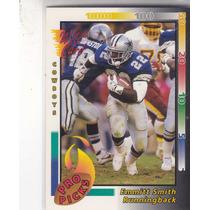 1992 Wild Card Pro Picks Emmitt Smith Rb Cowboys