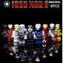 Lego Iron Man, Set Figuras Ironman